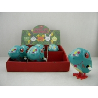 Wind up tin jumping duck